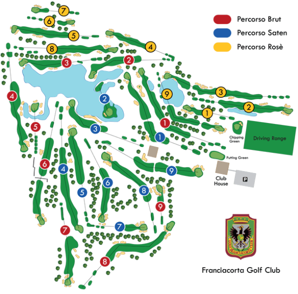 Franciacorta Golf Club mappa