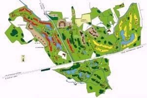 Asolo Golf Club mappa
